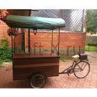 Велотележка для продажи напитков